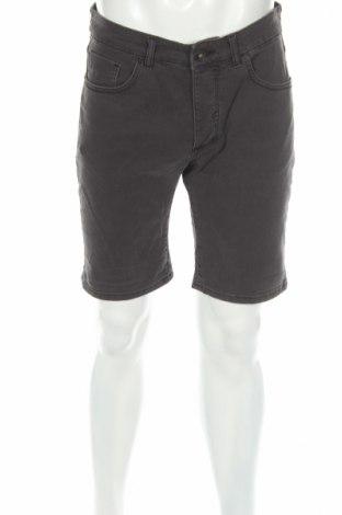 Pantaloni scurți de bărbați Selected Homme, Mărime M, Culoare Gri, 98% bumbac, 2% elastan, Preț 53,42 Lei