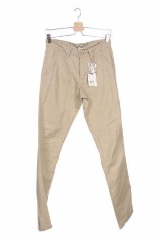 Мъжки панталон Carnet De Vol, Размер S, Цвят Бежов, 55% лен, 45% памук, Цена 17,48лв.