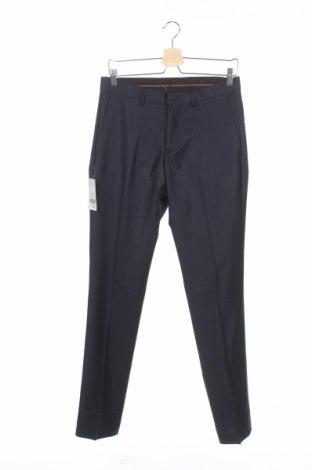 Pantaloni de bărbați Devred 1902, Mărime S, Culoare Albastru, Lână, Preț 78,29 Lei