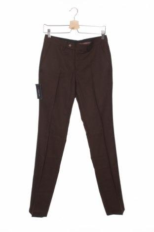 Мъжки панталон Devred 1902, Размер S, Цвят Кафяв, 54% полиестер, 44% вълна, 2% еластан, Цена 22,77лв.
