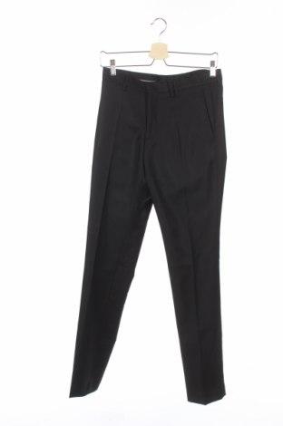 Ανδρικό παντελόνι Devred 1902, Μέγεθος S, Χρώμα Μαύρο, Μαλλί, Τιμή 6,00€