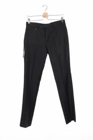 Мъжки панталон Devred 1902, Размер S, Цвят Черен, Вълна, Цена 17,85лв.