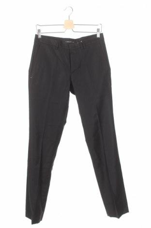 Мъжки панталон Devred 1902, Размер S, Цвят Черен, Вълна, Цена 18,17лв.