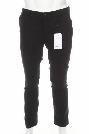 Pánske nohavice  Selected Homme, Veľkosť L, Farba Čierna, 50% vlna, 50% polyester, Cena  8,66€