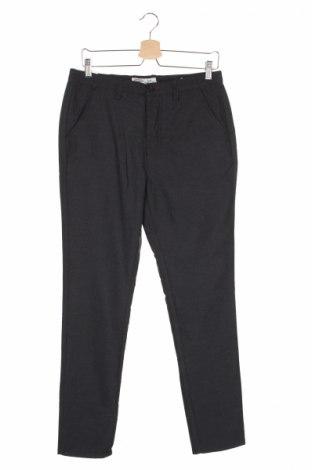 Мъжки панталон Springfield, Размер S, Цвят Сив, 75% полиестер, 25% вискоза, Цена 12,42лв.