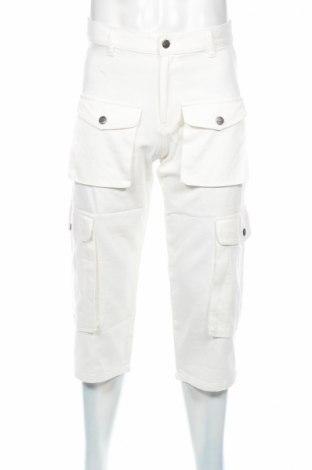Мъжки панталон Stratt, Размер S, Цвят Бял, Цена 10,54лв.
