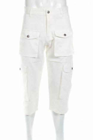 Мъжки панталон Stratt, Размер M, Цвят Бял, Цена 15,50лв.
