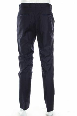 Мъжки панталон Vicomte A., Размер M, Цвят Син, Вълна, Цена 26,85лв.