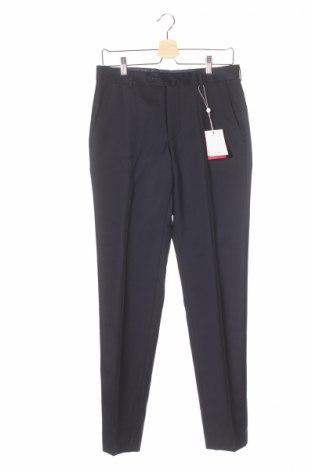 Мъжки панталон Vicomte A., Размер S, Цвят Син, Вълна, Цена 26,85лв.
