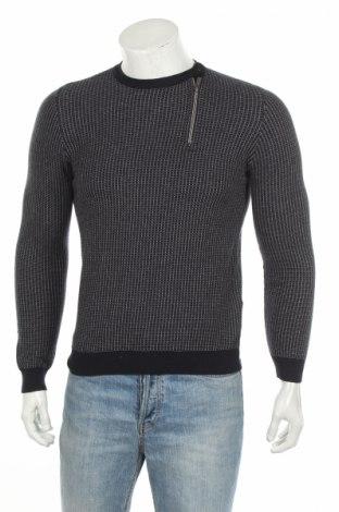 Мъжки пуловер Devred 1902, Размер XS, Цвят Син, 50% памук, 50% акрил, Цена 51,75лв.