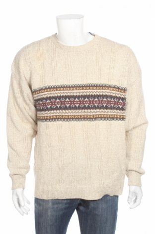 Ανδρικό πουλόβερ Izod, Μέγεθος L, Χρώμα  Μπέζ, 100% βαμβάκι, Τιμή 25,98€