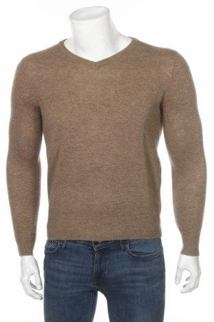 Ανδρικό πουλόβερ Springfield, Μέγεθος XS, Χρώμα  Μπέζ, 80% μαλλί, 20% πολυαμίδη, Τιμή 45,88€
