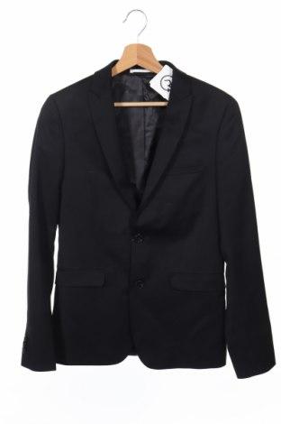 Ανδρικό σακάκι Devred 1902, Μέγεθος S, Χρώμα Μαύρο, 100% μαλλί, Τιμή 29,51€