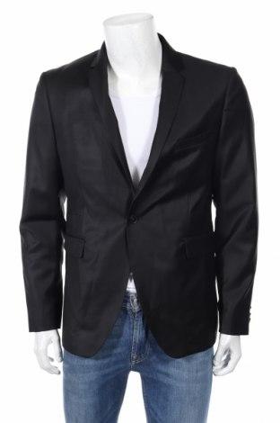 Ανδρικό σακάκι Devred 1902, Μέγεθος L, Χρώμα Μαύρο, 100% μαλλί, Τιμή 38,53€