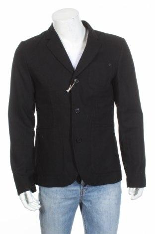 Pánské sako  Jack & Jones, Rozměr L, Barva Černá, 50% vlna, 50% polyester, Cena  2823,00Kč