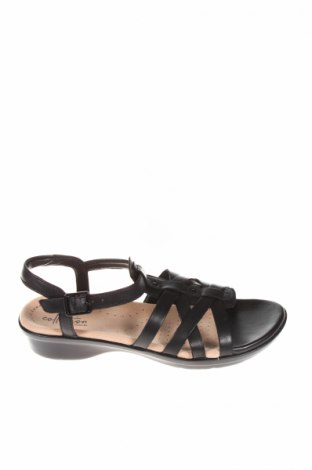 Sandale Clarks, Mărime 37, Culoare Negru, Piele naturală, Preț 181,05 Lei