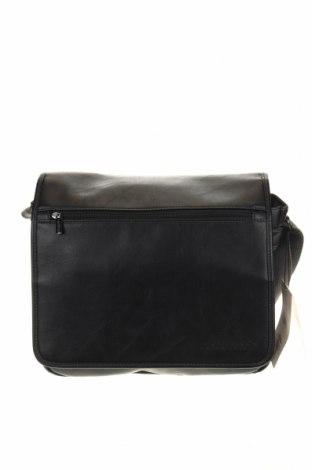 Чанта за лаптоп Bugatti, Цвят Черен, Еко кожа, Цена 188,53лв.