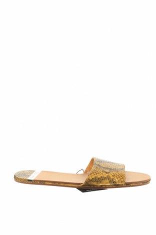 Γυναικείες παντόφλες Mango, Μέγεθος 37, Χρώμα Κίτρινο, Δερματίνη, Τιμή 8,22€