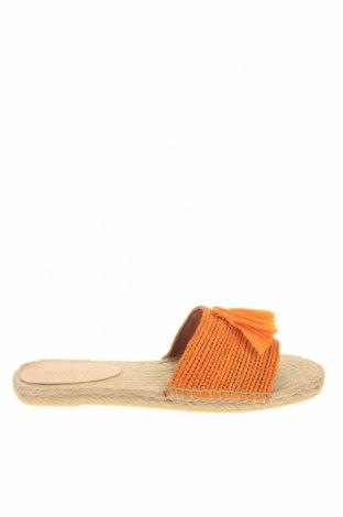 Γυναικείες παντόφλες Minelli, Μέγεθος 41, Χρώμα Πορτοκαλί, Κλωστοϋφαντουργικά προϊόντα, Τιμή 19,56€