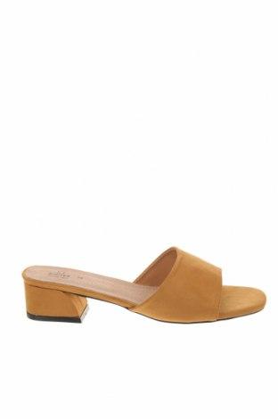Γυναικείες παντόφλες Rodier, Μέγεθος 39, Χρώμα Κίτρινο, Κλωστοϋφαντουργικά προϊόντα, Τιμή 53,74€