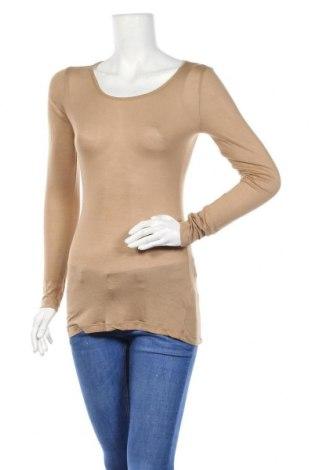Γυναικεία μπλούζα Hallhuber, Μέγεθος M, Χρώμα Καφέ, 79% μοντάλ, 21% κασμίρι, Τιμή 12,92€