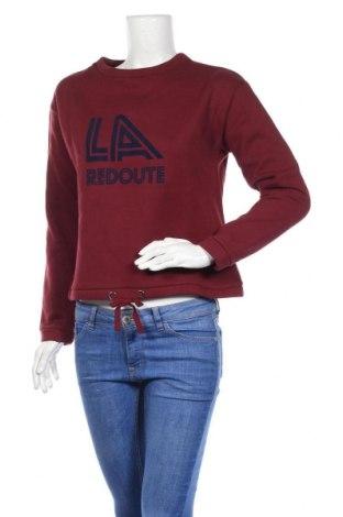 Дамска блуза La Redoute, Размер M, Цвят Червен, 80% памук, 20% полиестер, Цена 13,89лв.