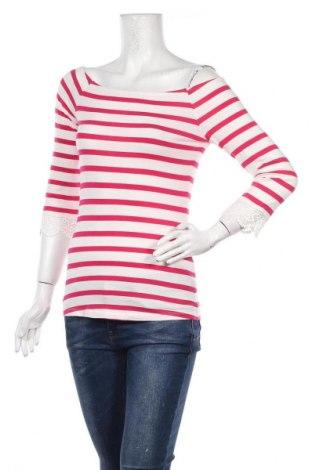 Дамска блуза Mint & Berry, Размер S, Цвят Бял, 75% вискоза, 20% полиестер, 5% еластан, Цена 14,28лв.