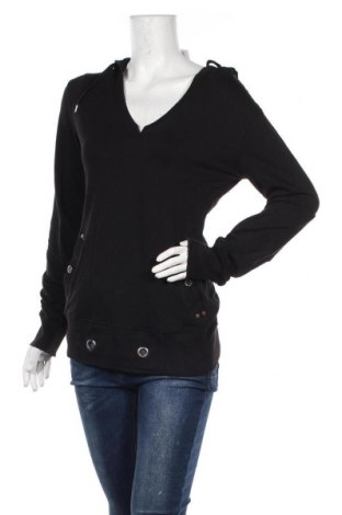 Дамска блуза Mish Mash, Размер L, Цвят Черен, 95% памук, 5% еластан, Цена 16,96лв.