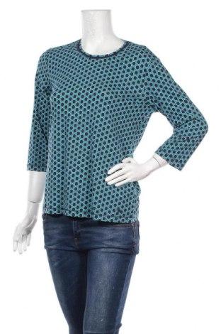 Γυναικεία μπλούζα Olsen, Μέγεθος L, Χρώμα Πράσινο, 95% βαμβάκι, 5% ελαστάνη, Τιμή 9,38€