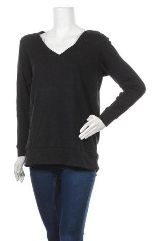 Дамска блуза Supre, Размер L, Цвят Черен, 65% полиестер, 35% памук, Цена 6,25лв.