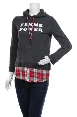 Γυναικεία μπλούζα Yes Or No, Μέγεθος S, Χρώμα Γκρί, Βαμβάκι, Τιμή 9,25€