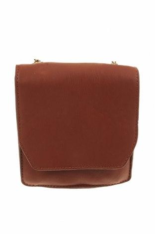 Дамска чанта, Цвят Кафяв, Еко кожа, Цена 22,94лв.