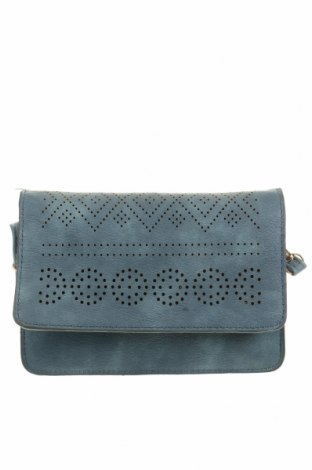 Дамска чанта, Цвят Син, Еко кожа, Цена 12,13лв.