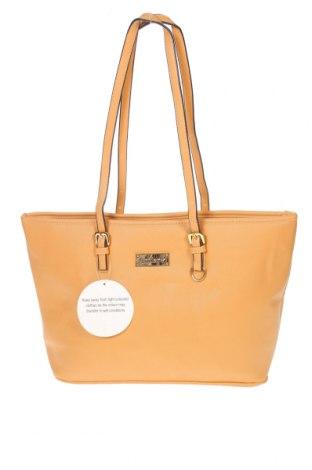 Дамска чанта Antler, Цвят Кафяв, Еко кожа, Цена 48,30лв.