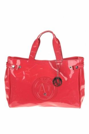 Дамска чанта Armani Jeans, Цвят Розов, Еко кожа, Цена 116,96лв.