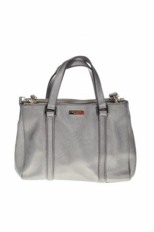 Дамска чанта Kate Spade, Цвят Сив, Еко кожа, Цена 64,26лв.