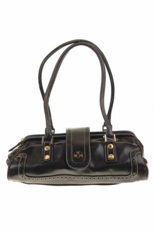 Дамска чанта Liz Claiborne, Цвят Черен, Еко кожа, Цена 32,34лв.