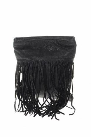 Дамска чанта Margot, Цвят Черен, Естествена кожа, Цена 46,31лв.