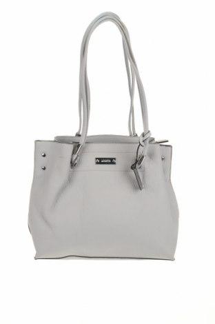 Дамска чанта Marikai, Цвят Сив, Еко кожа, Цена 36,75лв.