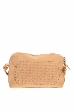 Дамска чанта Mint & Berry, Цвят Бежов, Еко кожа, Цена 27,93лв.
