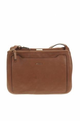 Γυναικεία τσάντα Nine West, Χρώμα Καφέ, Δερματίνη, Τιμή 30,19€