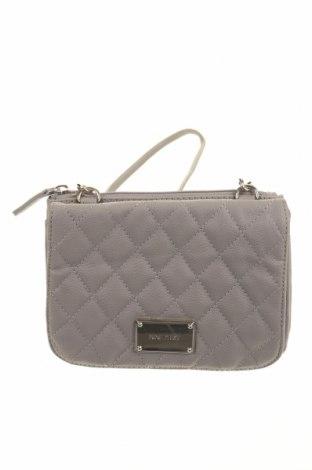 Γυναικεία τσάντα Nine West, Χρώμα Γκρί, Δερματίνη, Τιμή 29,62€