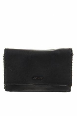 Γυναικεία τσάντα Nine West, Χρώμα Μαύρο, Δερματίνη, Τιμή 33,32€