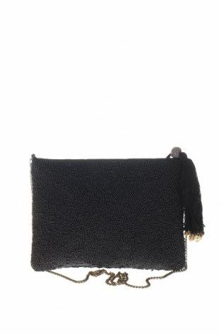 Дамска чанта Parfois, Цвят Черен, Текстил, Цена 36,75лв.