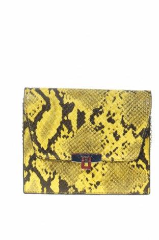 Дамска чанта Pull&Bear, Цвят Жълт, Еко кожа, Цена 29,40лв.