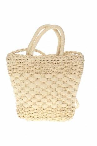 Дамска чанта Rubi, Цвят Бежов, Други тъкани, Цена 33,08лв.