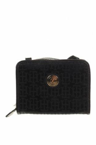 Дамска чанта Tommy Hilfiger, Цвят Черен, Текстил, Цена 62,48лв.