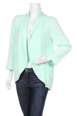 Γυναικεία ζακέτα, Μέγεθος L, Χρώμα Πράσινο, 97% πολυεστέρας, 3% ελαστάνη, Τιμή 8,87€