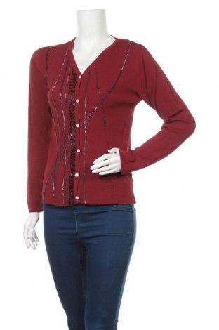 Γυναικεία ζακέτα, Μέγεθος M, Χρώμα Κόκκινο, Τιμή 5,00€