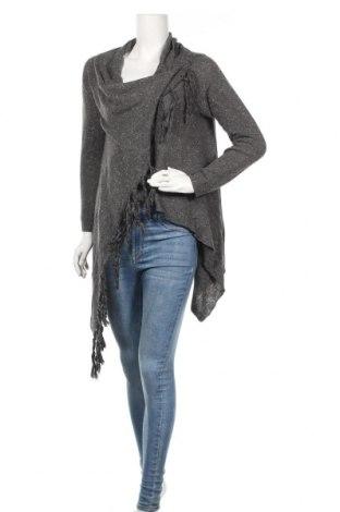 Дамска жилетка, Размер M, Цвят Сив, 65% памук, 35% полиестер, Цена 43,47лв.